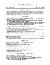 Entry Level Resume Summary ...