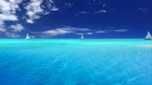 Ocean Background Hd Blue Ocean Backgrounds Wallpaper Cave