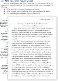 Sample Of An Apa Research Paper Free Sample Apa Research Paper Pdf 639kb 12 Page S
