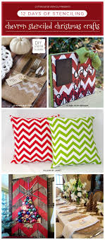 cutting edge stencils shares diy themed chevron crafts