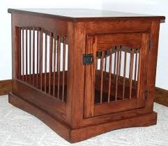 coffee table dog crate mission style side entry wooden dog crate table inside dog crate coffee