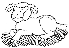 Kleurplaat Van Lammetjes Lammetje Kleurplaat Bijbelonderwijs Nieuwe