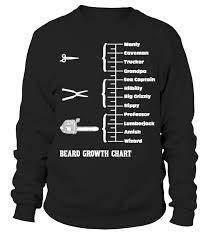 Beard Growth Chart Sweatshirt Beard Growth Chart Sweatshirt Teezily