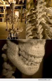 skeleton on Pinterest | Skeletons, Knits and Knitwear via Relatably.com