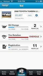 Mycarfax Reminds You When Your Car Is Due For A Tire Rotation And Other Maintenance Car Care Car Maintenance Free Cars