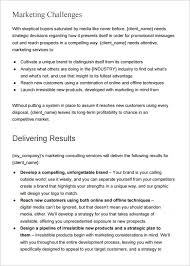 Sample Marketing Proposal Template 19 Documents In Pdf Word In