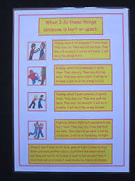 Details About Behaviour A4 Wall Chart Autism Adhd Sen Challenging Behaviour Visual Aid