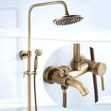 retro bathtub faucets bathroom retro antique copper brass bathtub shower set wall mounted 8 rainfall shower retro bathtub faucets