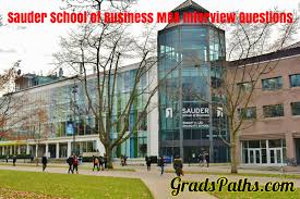 graduate s paths sauder school of business mba interview questions