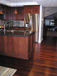 Wooden Floors In Kitchens Dark Wood Floor In Kitchen Top Preferred Home Design