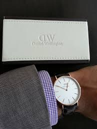 daniel wellington vs smartwatch review daniel wellington watch on wrist