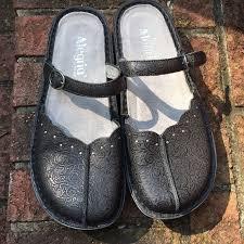 alegria lite shoes alegria tuscany black mary jane slip ons eu 38 euc