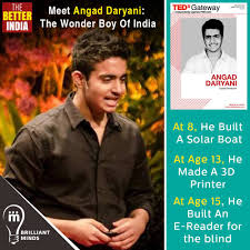 TheBetterIndia - This is Angad Daryani...The 15-year-old Who Captivated The  World With His Insightful Take On Science! Child prodigies make good  headlines. So does Angad Daryani. Except, he makes much more than
