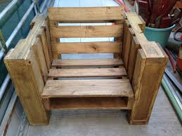picture of pallet chair