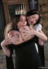 Sucks Her Own Tits Queen Grimhilde XXX Cartoon Pics.