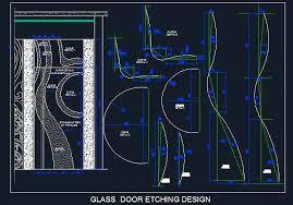 glass etched door design