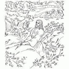 Leuk Voor Kids Jezus Bidt In De Hof Van Getsemane Regarding Hof In
