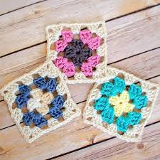 Basic Granny Square Pattern Magnificent Crochet Granny Square Pattern Petals To Picots