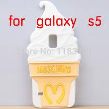 samsung galaxy s5 3d cases. s5 3d ice cream silicone soft case back cover for samsung galaxy 3d cases