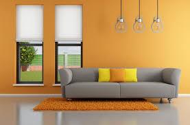 modern wall art modern wall colors orange warm wall paint ideas