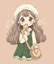 ảnh Anime Girl Hinh Chibi Cute Dễ Vẽ - Novocom.top