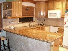 Custom Kitchen Cabinets Miami Granite Counterrtop On U Shaped Kitchen Layouts With Backsplases