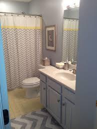 bathroom redo. Yellow And Grey Bathroom Redo