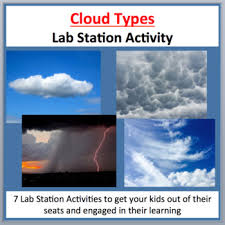 The Different Types Of Clouds 7 Lab Station Activities By Teach