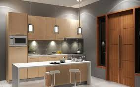 Home Depot Kitchen Remodeling Attractive U Shaped Kitchen Design With Cabinet Around And Central