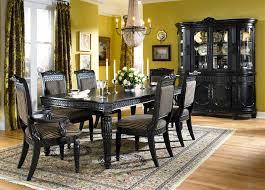 charming black dining room table set 16 unique formal tables design