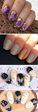 12 Boxes Copper Foil Paillette Chip Nail Art Design Tips ...