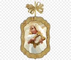 angel art picture frame ornament png