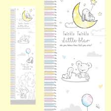 Details About New Baby Baby Shower Gift Height Chart Measures From 50cm To 130cm