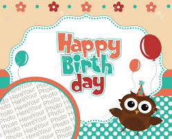 Download Birthday Invitation Card Design Happy Birthday Invitation Card Design Vector Illustration