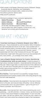 100 Graphic Designers Resume Samples Graphic Designer