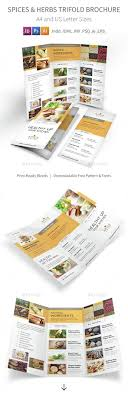 Spices Brochure Design Save With Bundle Spices Herbs Print Bundle Is Also