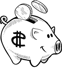 Small Picture Put Your Coin Piggy Bank Coloring Page Color Luna