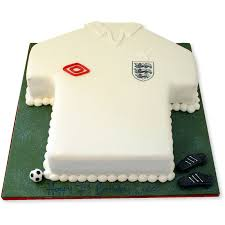 England Football Shirt Cake Birthday Cakes The Cake Store