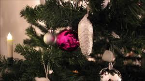 Unser Weihnachtsbaum 2018 Christbaum Schmücken Christbaumschmuck Dekorieren Weiss Silber Rosa