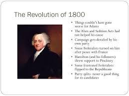 The Revolution of 1800 Sasso US I ...