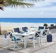 grand resort patio furniture review harbor beach 7 piece dining set