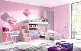 bunk beds kids desks. Unique Girls Bunk Beds For Your Kids : Modern Girl Colorful Desk Wooden Desks