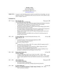 Marketing Resume Objective Statements Marketing Resume Objective
