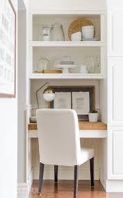 the latest update to our kitchen these beautiful diy floating desks with storage and as promised today we are sharing how we designed and built them