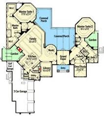 80 Best Two Master Suites Images On Pinterest  House Floor Plans Two Master