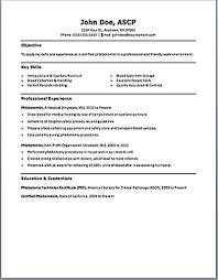 Phlebotomy Resume 2 Medmoryapp Com