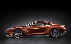 2013 Aston Martin Vanquish Side View  N