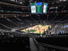 Seating Chart Fiserv Forum Fiserv Forum Section 121 Row 28 Home Of Milwaukee Bucks
