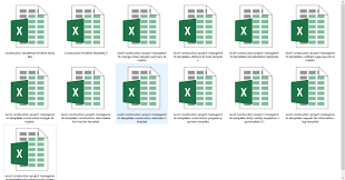 Excel Construction Management Templates Engineering Books