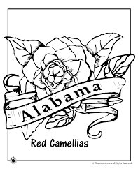 Small Picture Alabama State Flower Coloring Page Woo Jr Kids Activities